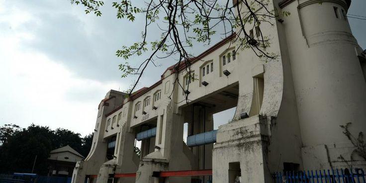 the old dam, Jagir, Surabaya
