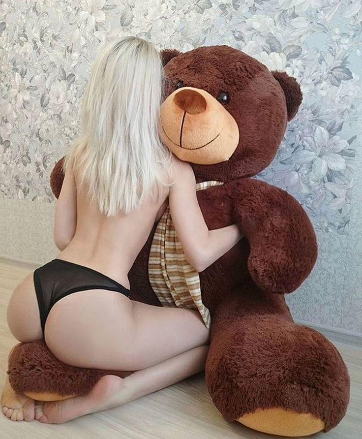 A guy in a teddy bear costume having sex, black girl selfpic nude