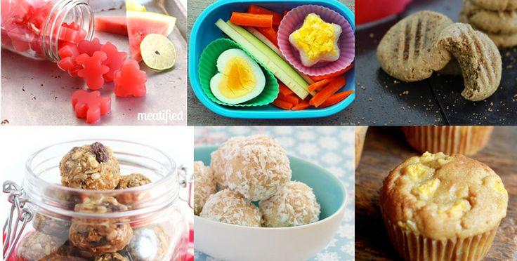 Paleo Kids Lunch Box Ideas (Nut Free)