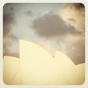 Sydney Opera House - the sails :)