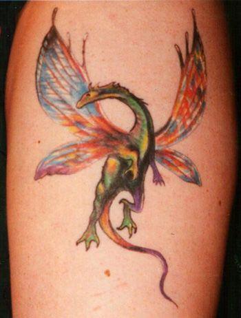fairy dragon tattoo looking for unique matt birkla tattoos dragon boris dragon tattoos. Black Bedroom Furniture Sets. Home Design Ideas