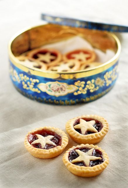 Jam Tarts, the recipe is English but it's basic enough. These might make it into the cookies this year.