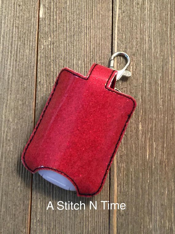 Red Hand Sanitizer Holder This Sanitizer Keychain Holder Will Help