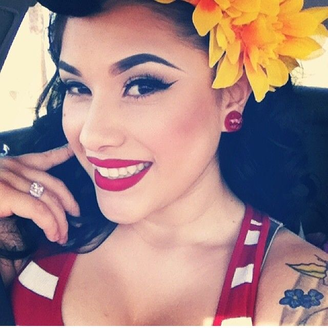 Rockabilly Makeup And Hair Rockabilly Hairstyles
