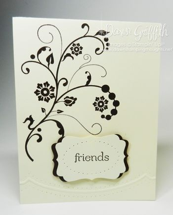 Friends from Dawn Griffth's dawnsstampingthoughts typepad--I want to try it in concord crush or gumball green.