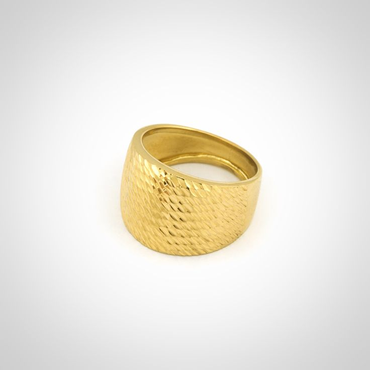 Anillo de oro amarillo 18k