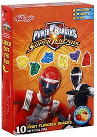 Power ranger party favor - find these fruit snacks?!
