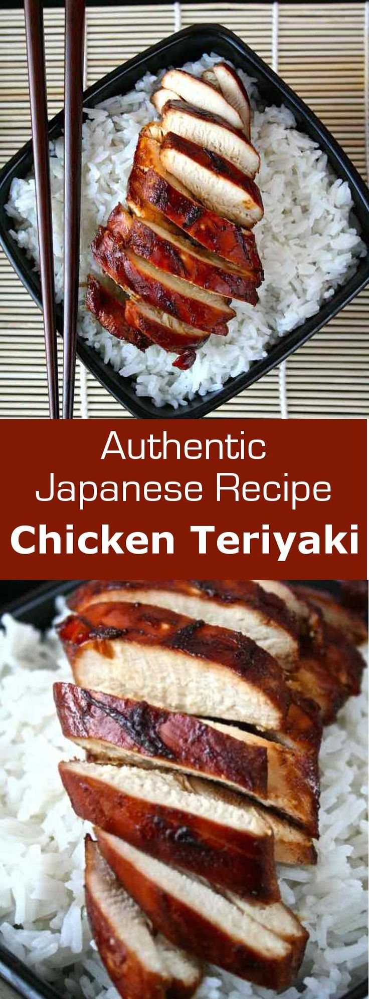 Chicken teriyaki consists in marinating and cooking chicken in teriyaki sauce…