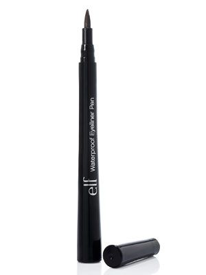 You can't beat the price of the e.l.f. Waterproof Eyeliner Pen ($1). This liner's pointed tip helped testers apply product exactly where they wanted and gave the look of liquid without the mess. #elf #eyeliner