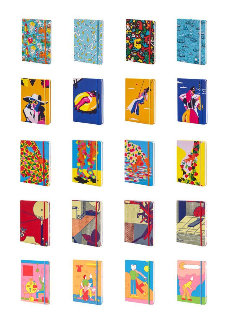 Illustrators Join together To Create Bookblock Notebooks - Design Milk