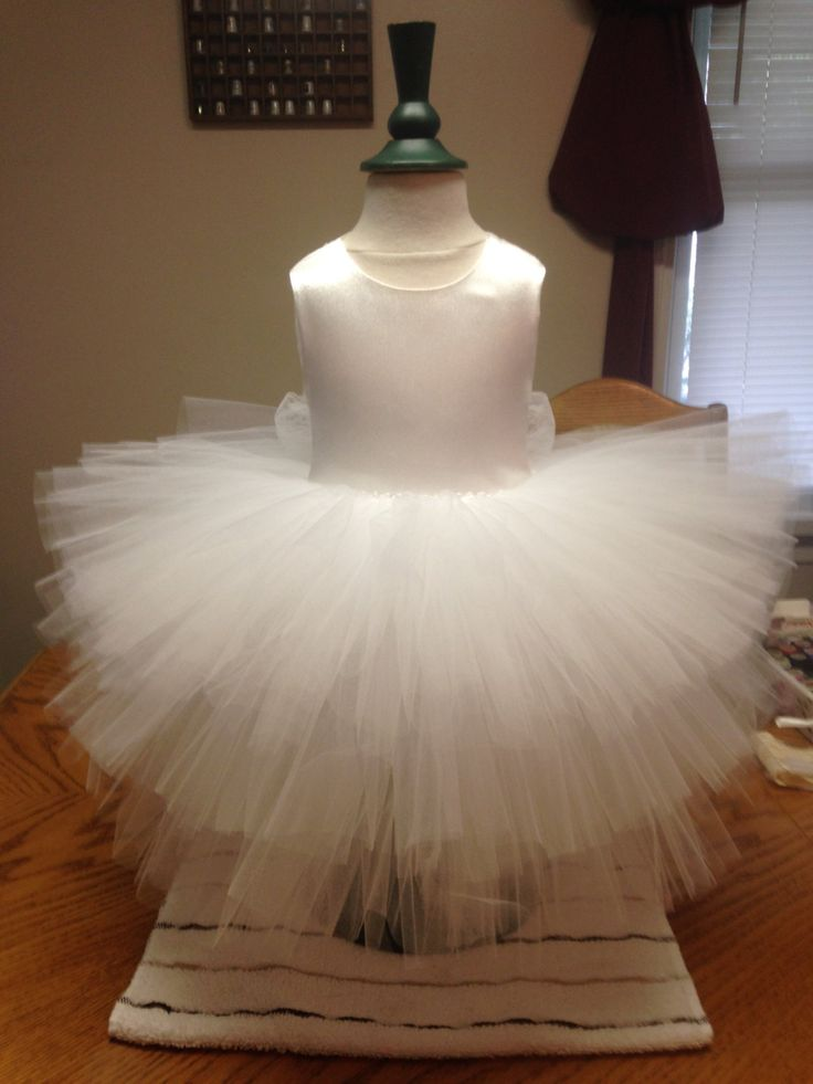 Fancy Frilly Satin Tulle Lace Flower Girl, Christening, Special Occasion Dress by AntoinetteExclusives on Etsy