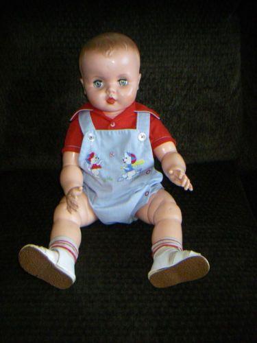 Vintage 1960's Uneeda Big Baby Doll Playpal Type 26 11 Adorable | eBay
