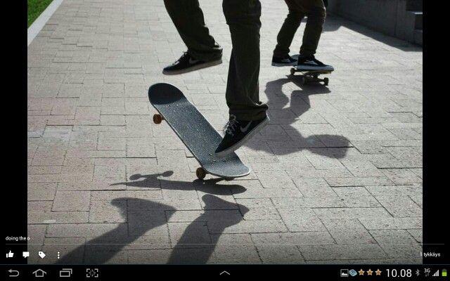Skating, Skateboard Park, Helsinki