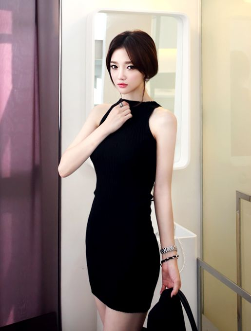 Unique 2015 New Fashion Slim Fit Women Dresslong Sleeve Korean Stylish Elegant Dressesbeautiful ...