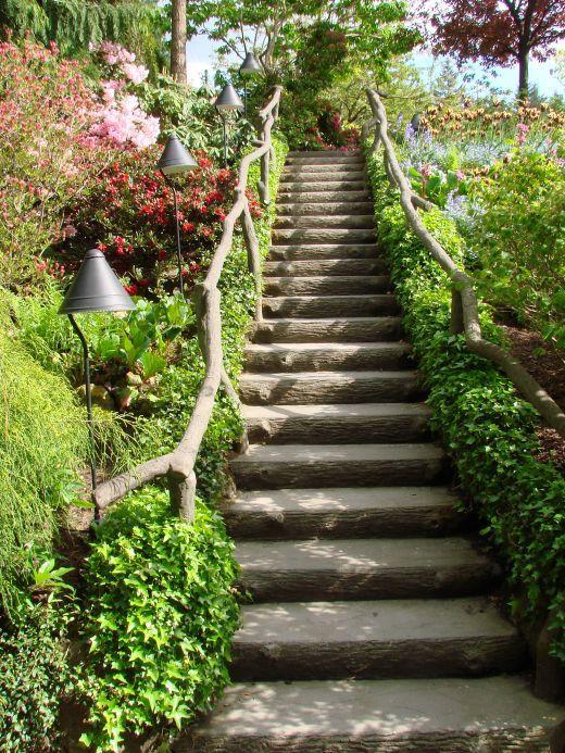 Best 25 garden stairs ideas on pinterest garden steps for Garden steps designs ideas