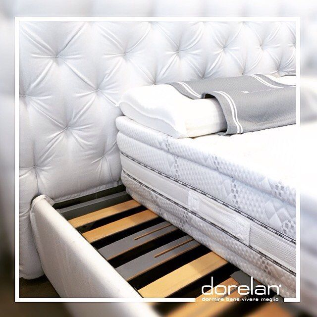 #Great things are done by a series of #small things brought #together. cit. #vangogh #totalwhite #style by #Dorelan #mattress ##designdecor #bedroom #soft #textile #white #MadeinItaly #BedInItaly #italianstyle #design