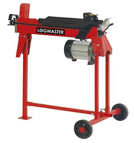 Forget the days of backbreaking work chopping logs, the Logmaster six-ton electric log splitter does it for you, enabling you to prepare, dry out and store logs at any time of the year. Efficient and labour-saving, it will turn this laborious and dangerous chore into a quick, quiet, easy and automatic task splitting up to 100 logs per hour.