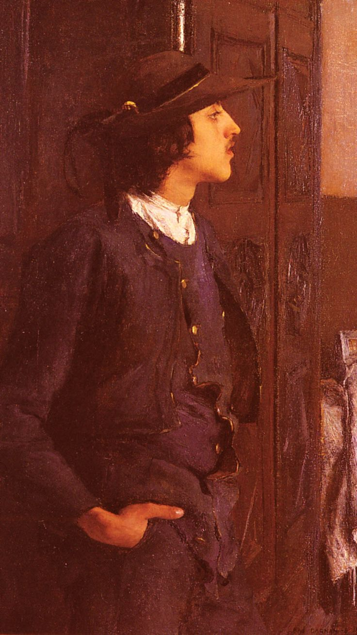 Dagnan-Bouveret Pascal Adolphe Jean Jeune Homme Breton