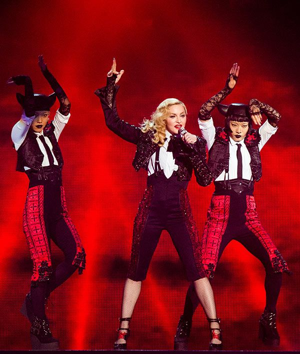 Madonna is getting ready for her big Rebel Heart World Tour, but her time on the road wouldn't be complete without incredible costumes made by major designers. She has enlisted quite the ensemble to work on this tour, and she finally revealed them all. See who made the cut below!