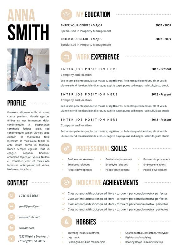 385 best resumes images on Pinterest Creative curriculum - attractive resume templates