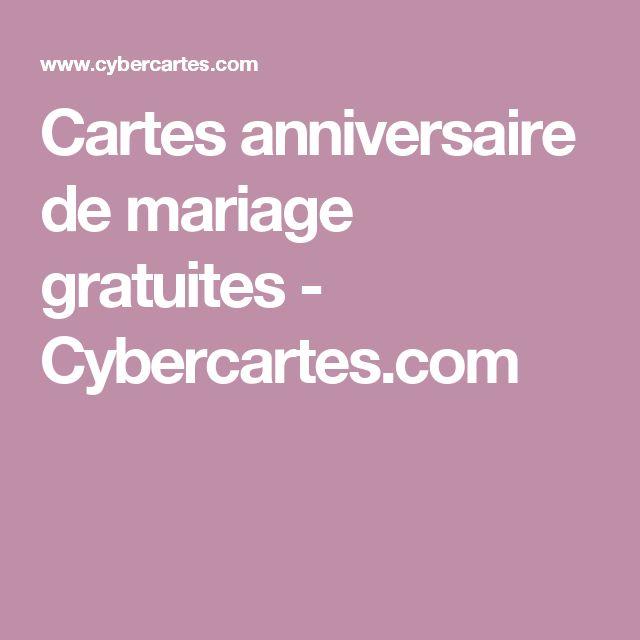 cybercarte anniversaire de mariage gratuite