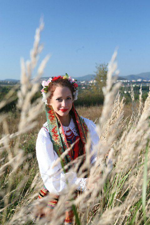 Regional costume from Krzczonów / Lublin, Poland.