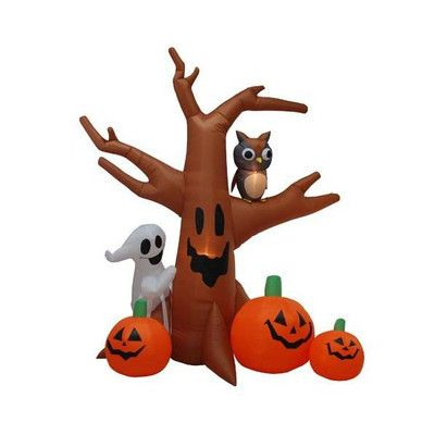 BZB Goods Halloween Inflatable Haunted Tree Decoration & Reviews   Wayfair