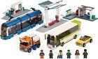 Lego City 8404 Public Transport Station-864 pcs-6 Minifigures-Complete Set
