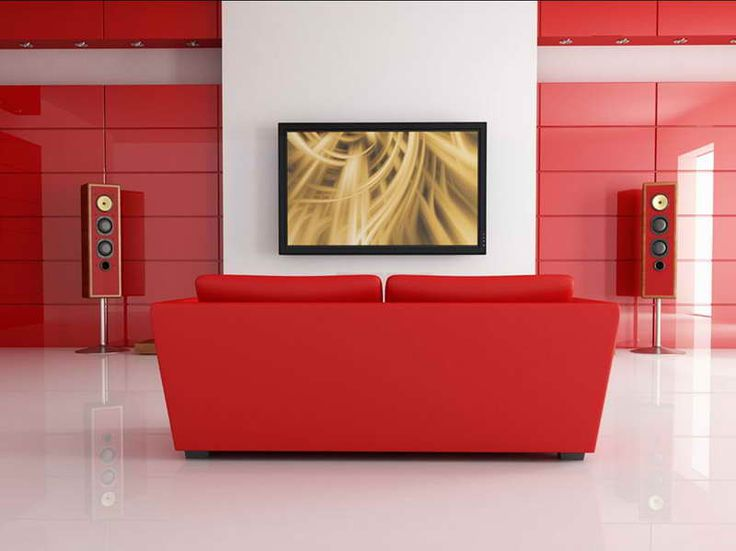 Living Room Modern Red Living Room Decor With Red Sofa Facing Tv Intended  For Red Living Room19 best Red Wallpaper Designs Ideas images on Pinterest   Red  . Red Living Room Wallpaper Ideas. Home Design Ideas