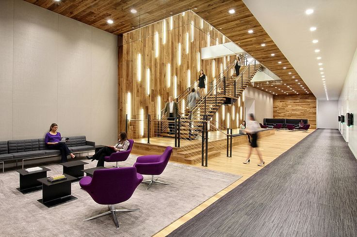 2015 Top 100 Giants: Firms and Fees | Gensler, Ranked #1. Project: Bayer Healthcare. Location: Whippany, NJ. #design #interiordesign #interiordesignmagazine #architecture #office #furniture #staircase @gHospitality