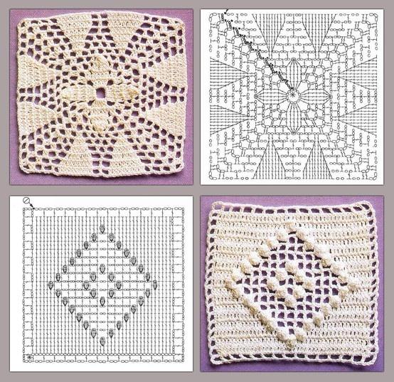 crochet squares! ♥