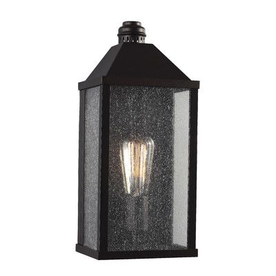 Laurel Foundry Modern Farmhouse Theo 1 Light Outdoor Flush Mount