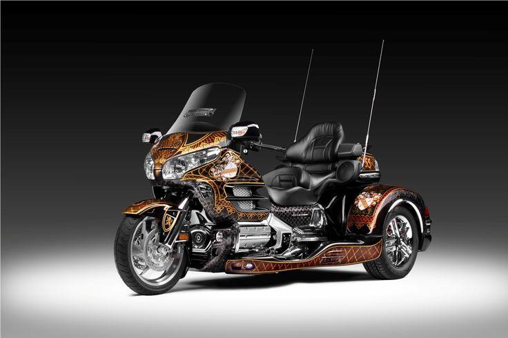 Wing Gold >> TRIKE Honda GoldWing 1800 | HONDA GOLD WING TRIKE | Pinterest | Honda, Sidecar and Custom trikes