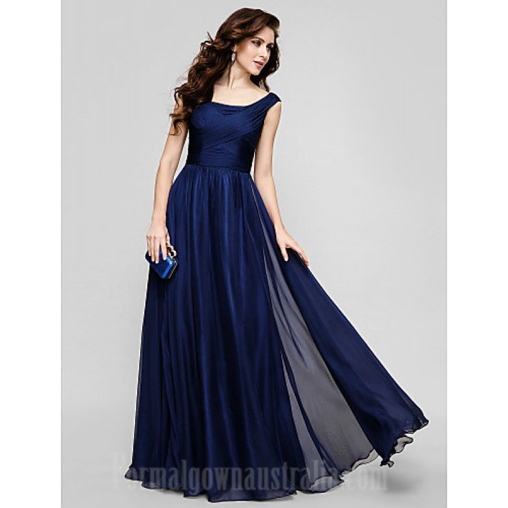 333 Australia Formal Evening Dress Holiday Dress Dark Navy Plus Sizes Dresses Petite A-line Princess Scoop Long Floor-length Chiffon_1-800x800.jpg (800×800)