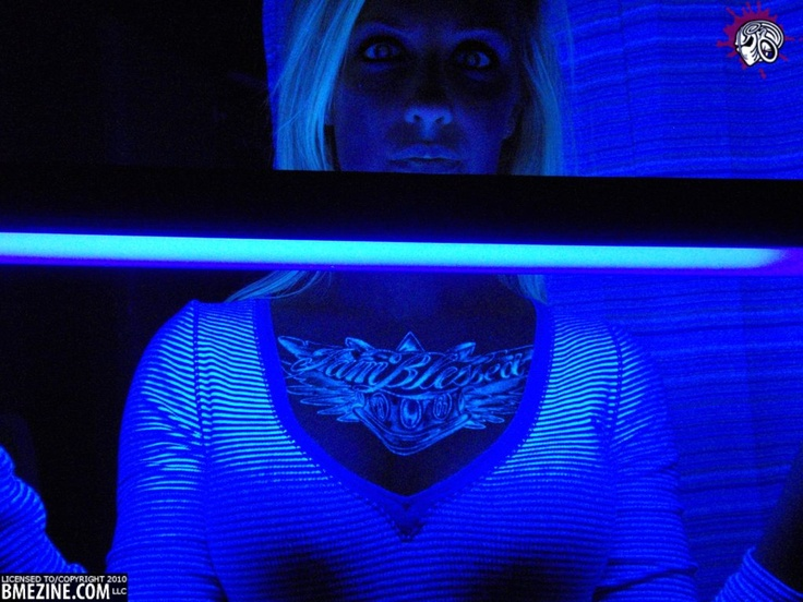 Best TATTOOS Images On Pinterest Architecture Children And - 30 creative black light tattoos you can see only under uv light 8 is what i call amazing