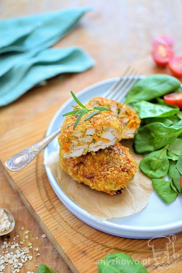 Dietetyczne kotleciki drobiowe z marchewką