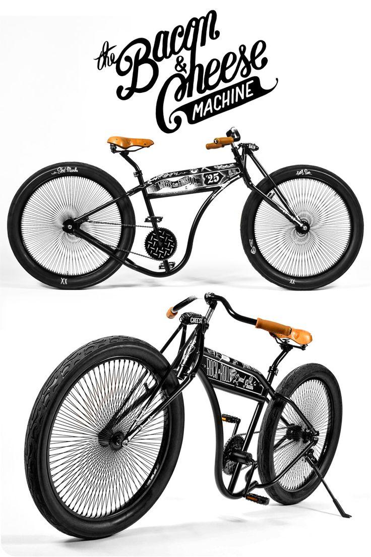 Like.: Bess Bacon, Bike Design, Bacon Cheese, Pg Bike, Cheese Logos, Chee Bicycles, Cheese Recipes, Mc Bess, Bike Stuff