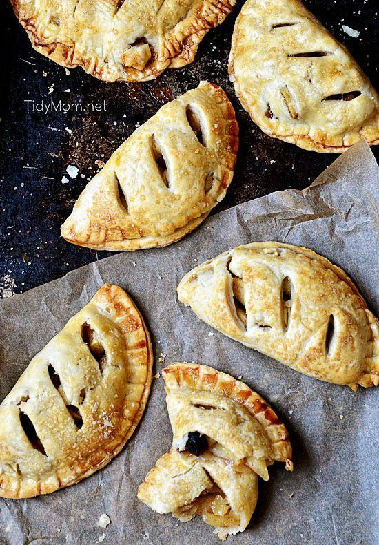 Apple Berry Handpies recipe at TidyMom.net @Cheryl Sousan   Tidymom.net