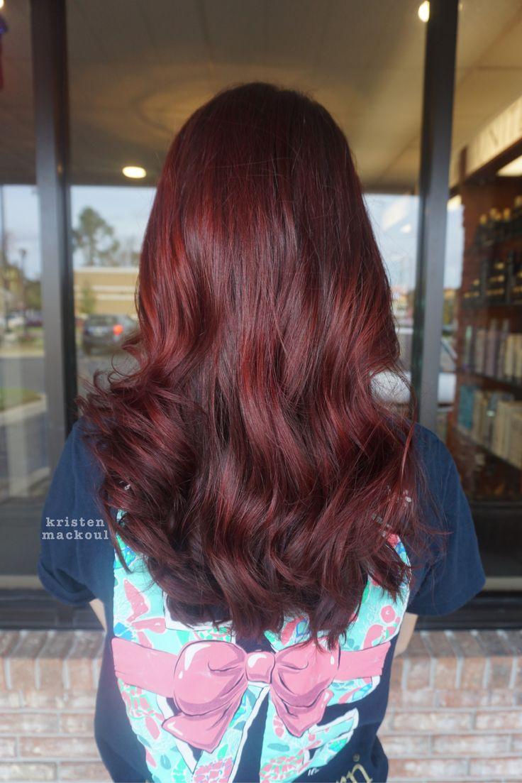 17 best images about kristen mackoul hair dark pomegranate red kristen mackoul hair red head i want to wig