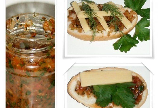 Acili Ezme - török szendvicskrém
