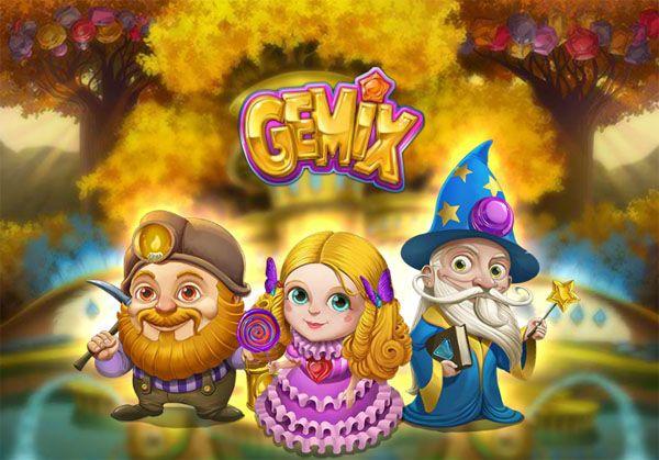 Gemix #Spielautomat von #PlaynGo wird dich mit seiner Besonderheit überraschen! Starte ihn an und tauche in die wunderschöne bunte Welt des Automatenspiels kostenlos!