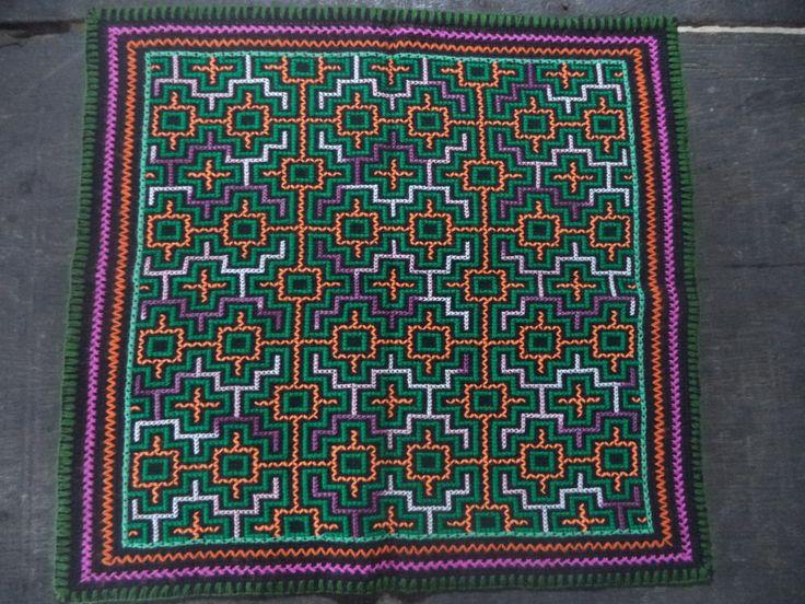 Shipibo Ceremonial cloth,Shipibo Tapestry,Ayahuasca Ceremony, Shamanic Cloth,I3 by Shakruna on Etsy