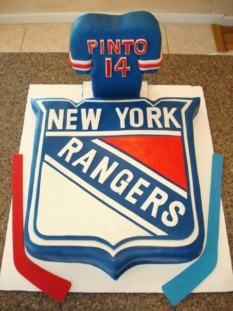 Cake Decorating Ideas Th Birthday Ny Rangers