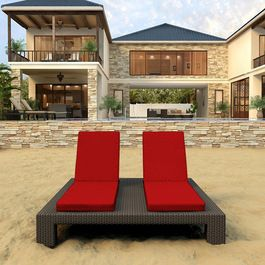 Contemporary Outdoor Chaise Lounges