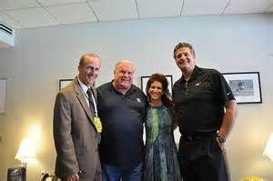 NRG's David Crane, Eagles Bill Bergey and Christina Weiss Lurie, and Mike Golic