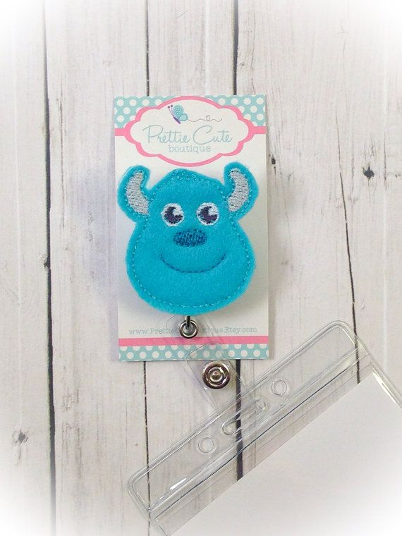 Hey, I found this really awesome Etsy listing at https://www.etsy.com/listing/198721777/sulley-monsters-inc-name-badge-holder