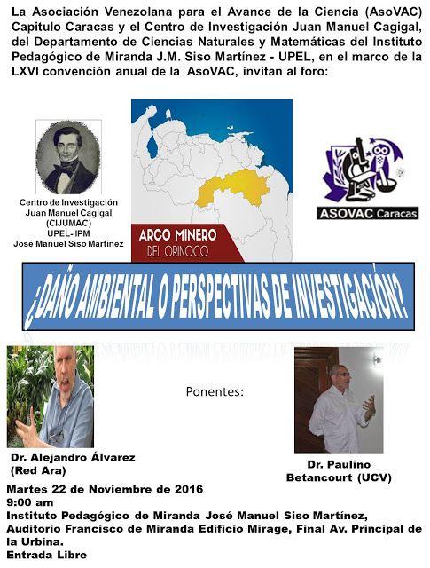Noticias UPEL Miranda: Foro: Arco Minero del Orinoco ¿Daño ambiental o pe...