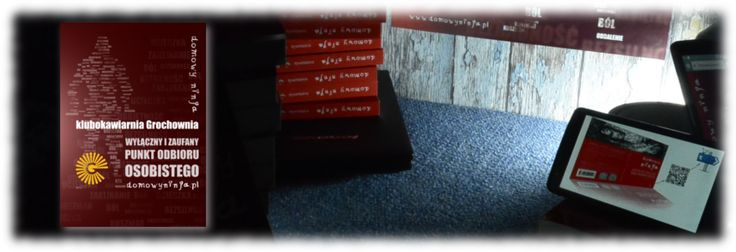 """wydawca i dystrybutor: """"DOMOWEGO NINJA""""   ::: -:   WIĘCEJ na ::: -:   https://TheQuathe.pl, Nasz zaufany punkt odbioru osobistego Klubokawiarnia Grochownia, http://facebook.com/grochownia"""