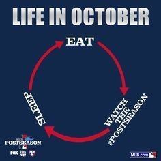 My life in October!!!! ❤️⚾️