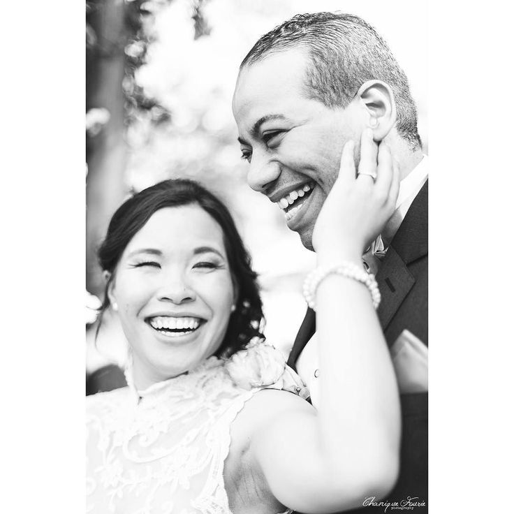 """Laughter is wine for the soul - laughter soft or loud and deep tinged through with seriousness - the hilarious declaration made by man that life is worth living."" Seán O'Casey  #chaniquefouriephotography #cfp_weddings #brideandgroom #laughter #wedding"